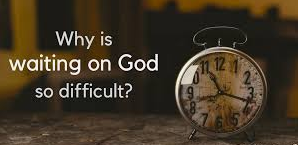 spiritual blog - waiting