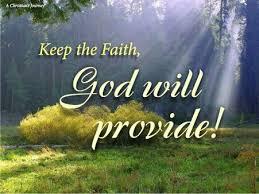Spiritual Blog - Provisoin