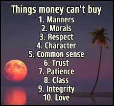 Spiritual Blog - Money
